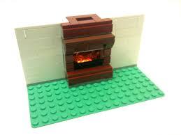 tutorial lego fireplace with light brick cc youtube