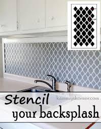 kammy u0027s korner easy tile look back splash plus before and afters