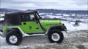 jeep wrangler snow tires snow offroad fun rubicon mud tires pajero io winter tires