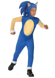 Game Boy Halloween Costume Deluxe Sonic Hedgehog Video Game Young Child Kids Halloween