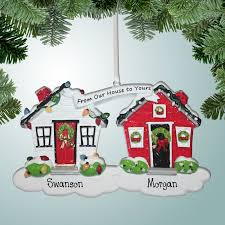 theme ornaments ornaments from our house to yours white