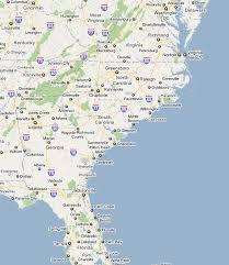 usa east coast map east coast road map my