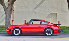 porsche 911 for sale in florida 1987 porsche 911 g50 coupe 5 speed