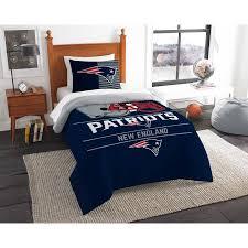 New Bed Sets Nfl New Patriots Draft Bedding Comforter Set Walmart