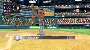 wii sports club baseball local match gameplay youtube