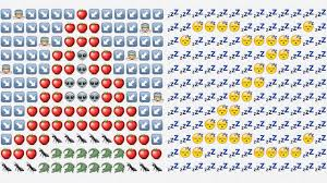 watermelon emoji welp this exists a typeface made of emoji