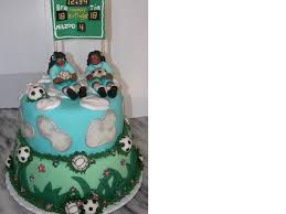 soccer and volleyball birthday cake cakecentral com