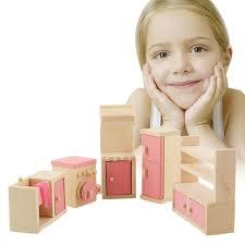 miniature dollhouse kitchen furniture kitchen furniture toy set wooden doll accessories kitchen furniture