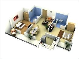floor plan 3d house building design plans for two bedroom house canal house 2 bedroom floor plan