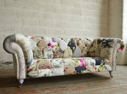 Handmade Chesterfield Sofas Uk Grace Patchwork Chesterfield Sofa Abode Sofas