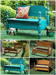Bed Frame Bench 8 Diy Bed Frame Garden Bench Projects Picture