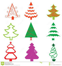 christmas tree clipart funky pencil and in color christmas tree