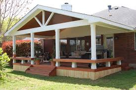 Patio Decks Designs Exterior Appealing Covered Back Porch Decks Ideas With Outdoor