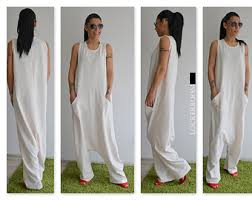 white jumpsuits and rompers for s jumpsuits rompers etsy