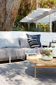 West Elm Patio Furniture by Giving New Life To Our Old Wood Deck Emily Henderson
