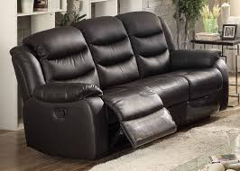 Leather Reclining Sofas And Loveseats by Ac Pacific Bennett Leather Reclining Sofa U0026 Reviews Wayfair