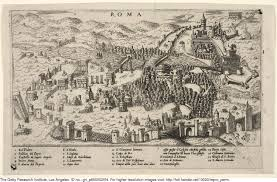 Vatican City Map 1565 Map Of Rome Maps Of Rome And Vatican City Pinterest Rome