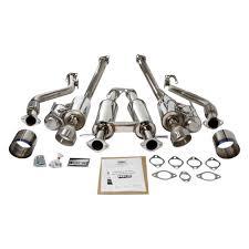 lexus hks hi power exhaust hks high power cat back exhaust 370z u2013 outcast garage