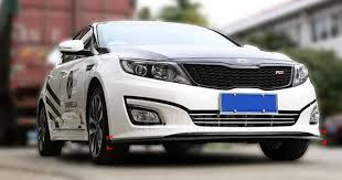 kia amanti 2011 bumper lips for kia amanti opirus 2002 2011 for car tuning