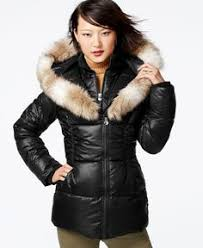laundry design coat fur hood furhoods tags fur hood down puffer winter coat jacket