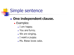types of sentences grammar lesson 5 notes types of sentences