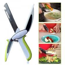 cutter de cuisine 6 en 1 ciseaux de cuisine coupe légumes smart cutter pratique et