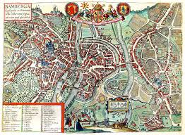 Bamberg Germany Map by Cities U0026 Towns Vol 2 Part 1johannes Jannson 1597 A 2 33 U2013 L Brown