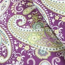 Paisley Comforters Purple Paisley Comforter Garden Paisley Super Pouf Sham Purple