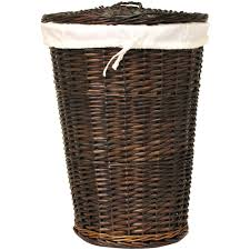 wooden laundry hamper with lid laundry hampers with lid