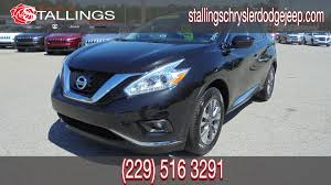 nissan murano black rims used 2017 nissan murano in thomasville serving moultrie ga