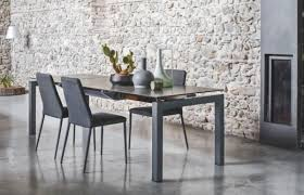 ceramic top dining room tables airport modern extending ceramic top dining table various finishes
