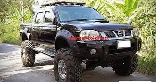 Wide Rims For Trucks Massive Wide Wheel Arch Flares Nissan Navara D22 4door