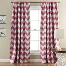 Chevron Nursery Curtains Pink Chevron Nursery Curtains Top Zig Zag Curtain Panels Turquoise