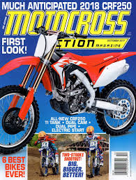 motocross action magazine motocross action magazine have you seen the new mxa october