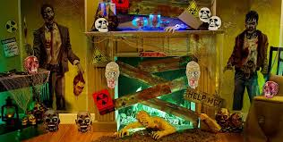 Halloween Room Decoration - zombie decorations zombie party supplies party city