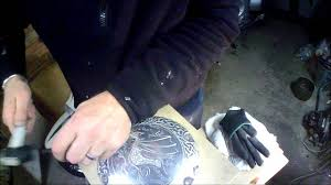 engraving motorcycle harley davidson derby cover youtube