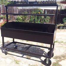 pit rental rent charcoal bbq pit just 4 party rentals santa barbara ca