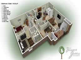 3 bedroom 2 bath brick house plans arts