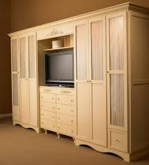 Wall Unit Images This Style Of Clothes Unit With Spot For A Tv Http Www