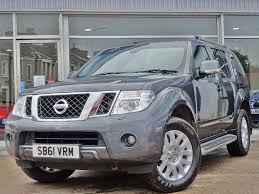 nissan pathfinder fuel consumption used nissan pathfinder mpv 2 5 dci eu 5 tekna 5dr in east wemyss