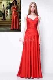 red satin dress vanessa hudgens red carpet celebrity long evening