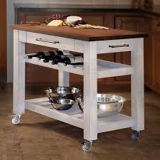 mobile kitchen island table martins homewares metro mobile kitchen island with solid walnut top