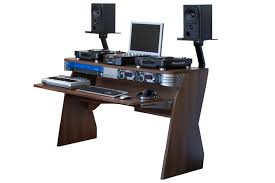 Studio Computer Desk by Sefour X60 Studio Dj Desk Tobacco Walnut