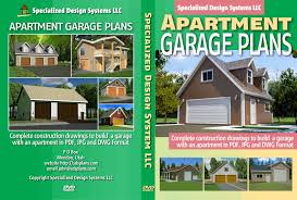 apartment and garage sds plans