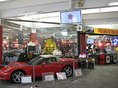 where is the national corvette museum parking for corvettes only generations of gm