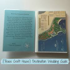 Destination Wedding Itinerary Destination Wedding Texas Craft House