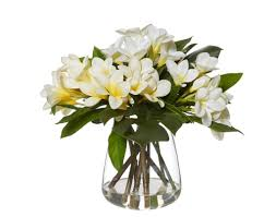 Artificial Lilies In Vase Artificial Flowers And Trees Interiors Online