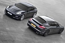 Porsche Panamera Redesign - kahn design unveils new wide body porsche panamera