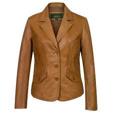 light brown leather jacket womens jess women s tan leather blazer hidepark leather
