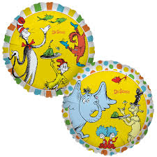 dr seuss balloons dr seuss favorites foil balloon birthdayexpress